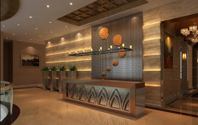 """威海""""棕榈湾""""售楼大厅创意设计(山东)"""